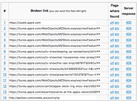 image of Broken Link Checker