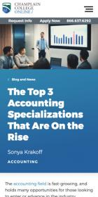 The Top 3 Accounting Specializations That Are on the Rise blog post
